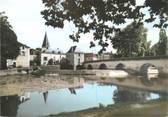 """24 Dordogne CPSM FRANCE 24 """"Cubiac, le pont et le barrage sur l'Auvézere"""""""