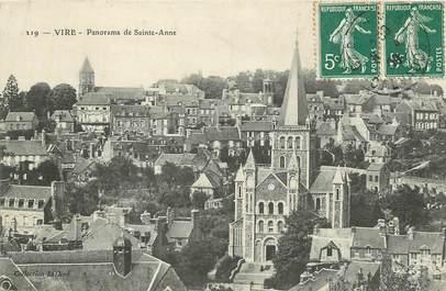 """/ CPA FRANCE 14 """"Vire, panorama de Sainte Anne"""""""