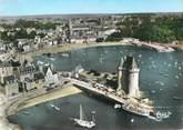 """35 Ille Et Vilaine CPSM FRANCE 35 """"Saint Servan, la tour Solidor et le port"""""""