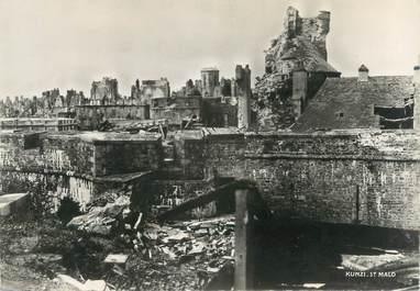 """CPSM FRANCE 35 """"Saint Malo, le château"""""""