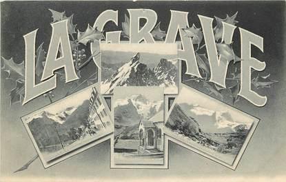 """CPA FRANCE 05 """"La Grave, vues du village"""""""