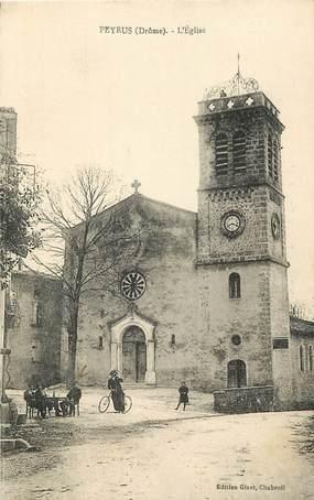 "CPA FRANCE 26 ""Peyrus, L'Eglise"""