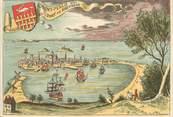 """35 Ille Et Vilaine CPSM FRANCE 35 """"Saint Malo, la ville au 17è siècle"""""""
