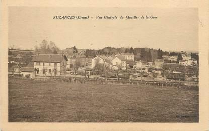 """CPA FRANCE 23 """"Auzances, vue générale du quartier de la gare"""""""