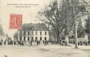 """23 Creuse CPA FRANCE 23 """"Saint Sulpice Les Champs, place de la mairie"""""""