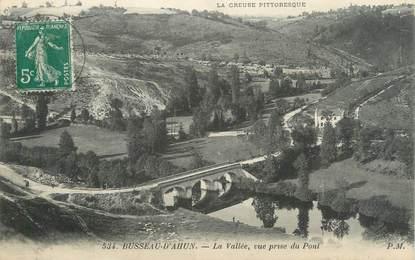 """CPA FRANCE 23 """"Busseau d'Ahun, La vallée"""""""