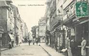 """14 Calvado CPA FRANCE 14 """"Lisieux, la rue Pont Mortain"""""""