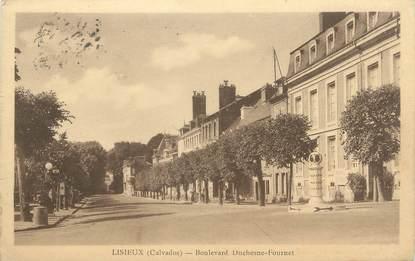 "CPA FRANCE 14 ""Lisieux, Boulevard Duchesne Fournet"""