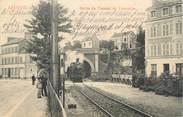 """14 Calvado CPA FRANCE 14 """"Lisieux, sortie du tunnel de Trouville"""""""