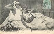 """Algerie CPA ALGERIE """"Scènes et types, Jeune mauresque et femme Kabyle"""" / NU"""