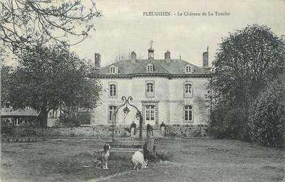 """CPA FRANCE 22 """"Pleudihen, le château de la Touche"""""""