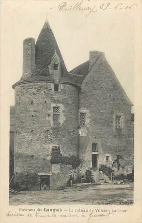 """CPA FRANCE 21 """"Environs de Laumes, le château de Villers, la tour"""""""