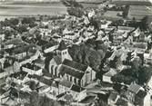 """21 Cote D'or CPSM FRANCE 21 """"Laignes, vue aérienne sur l'église"""""""