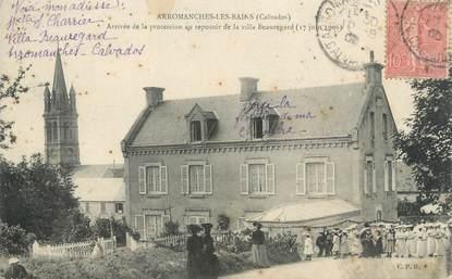 "CPA FRANCE 14 ""Arromanches Les Bains, villa Beauregard"""