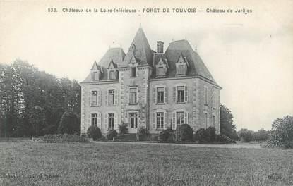 """CPA FRANCE 44 """"Forêt de Touvois, château de Jarilles"""""""