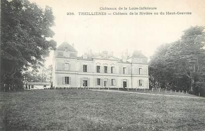 """CPA FRANCE 44 """"Treillières, château de la Rivière"""""""