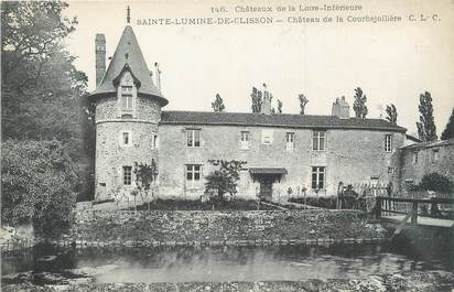 """CPA FRANCE 44 """"Sainte Lumine de Clisson, château de la Courbejollière"""""""