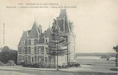 """CPA FRANCE 44 """"Riaillé, château d'Ancenis les Bois"""""""