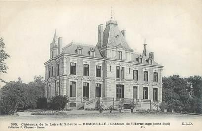"""CPA FRANCE 44 """"Remouillé, château de l'Hermitage """""""