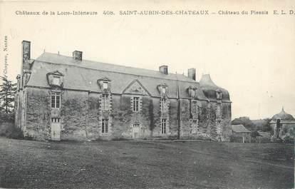 """CPA FRANCE 44 """"Saint Aubin des Châteaux, château du Plessis"""""""