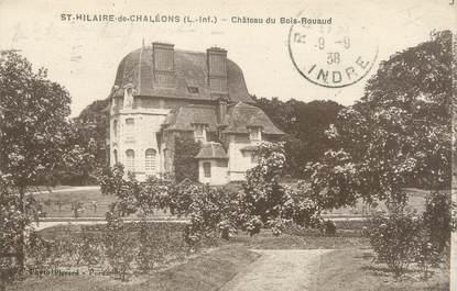 """CPA FRANCE 44 """"Saint Hilaire de Chaléons, château du bois Rouaud"""""""
