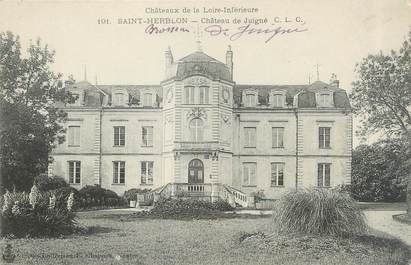 """CPA FRANCE 44 """"Saint Herblon, château de Juigné"""""""