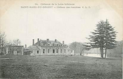 """CPA FRANCE 44 """"Saint Mars Du Désert, château des Jonnières"""""""