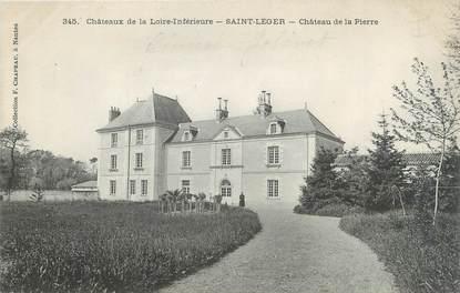 """CPA FRANCE 44 """"Saint Léger, château de la Pierre"""""""