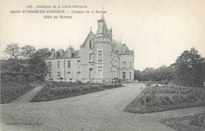 """CPA FRANCE 44 """"Saint Etienne de Corcoué, château de la Grange"""""""