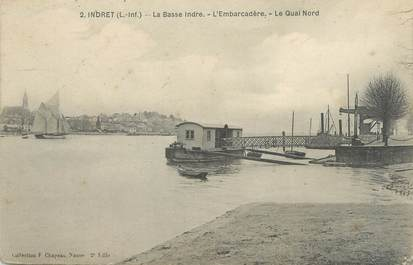 "CPA FRANCE 44 ""Indret, l'embarcadère"""