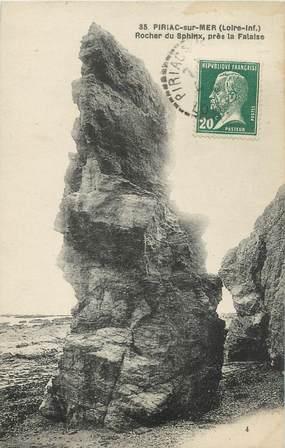"""CPA FRANCE 44 """"Piriac sur Mer, rocher du Sphinx"""""""