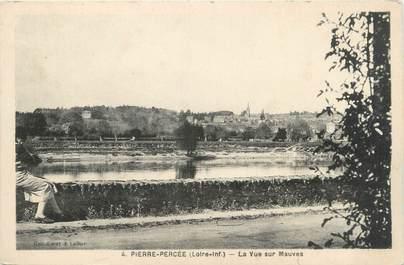 """CPA FRANCE 44 """"Pierre Percée, la vue sur Mauves"""""""