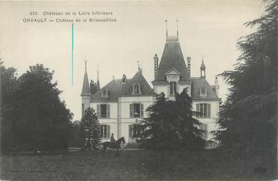 """CPA FRANCE 44 """"Orvault, château de la Briancellière"""""""