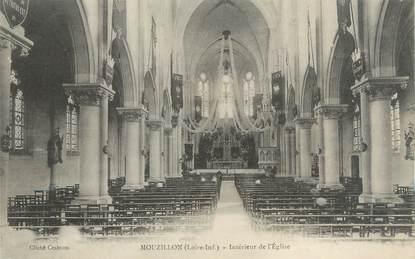 """CPA FRANCE 44 """"Mouzillon, intérieur de l'église"""""""