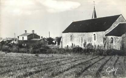 """CPSM FRANCE 44 """"Les Moutiers, chapelle de Prigny"""""""