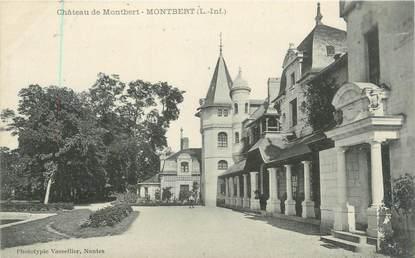"""CPA FRANCE 44 """"Montbert, château de Montbert"""""""