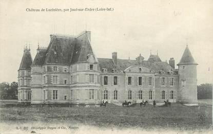 """CPA FRANCE 44 """"Joué sur Erdre, château de la Lucinière """""""