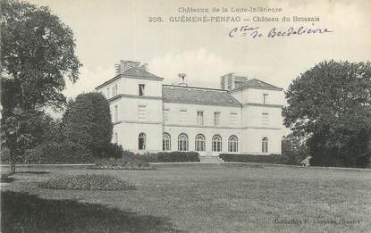 "CPA FRANCE 44 ""Guémené Penfao, château du Brossais"""