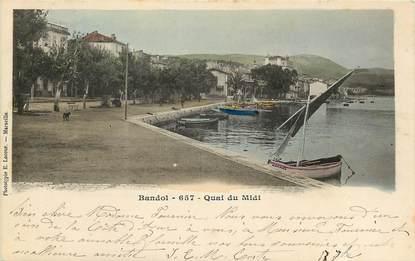 "CPA FRANCE 83 ""Bandol, Quai du Midi"""