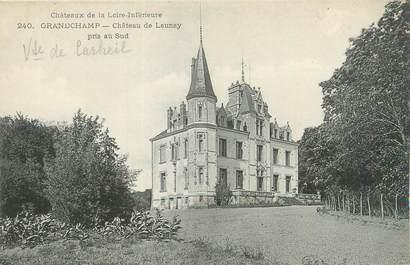 """CPA FRANCE 44 """"Grandchamps, château de Launay"""""""