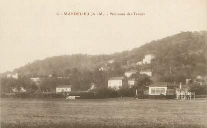 """/ CPA FRANCE 06 """"Mandelieu, panorama des termes"""""""