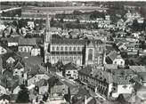 """25 Doub CPSM FRANCE 25 """"Pont de Roide, le centre et l'église"""""""