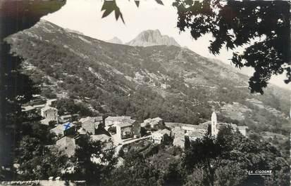 """CPSM FRANCE 20 """"Corse, Marignana, vue générale"""