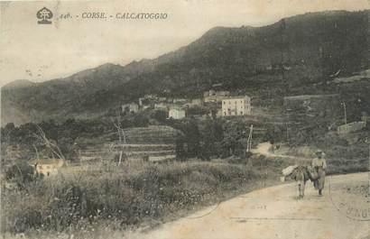 """CPA FRANCE 20 """"Corse, Calcatoggio"""""""