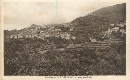 """CPA FRANCE 20 """"Corse, Rogliano, vue générale"""""""