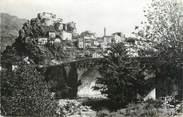 """20 Corse CPSM FRANCE 20 """"Corse, Corte, vue générale et pont sur le Tavignano"""""""