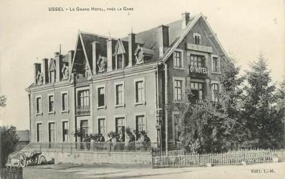 "CPA FRANCE 19 ""Ussel, le grand hôtel"""