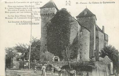 "CPA FRANCE 19 ""Le château de Curemonte"""
