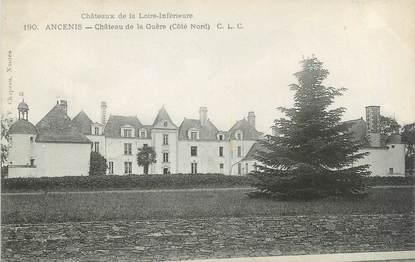 """CPA FRANCE 44 '""""Ancenis, château de la Guère"""""""