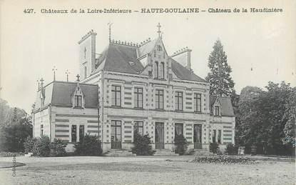 """CPA FRANCE 44 """"Haute Goulaine, château de la Haudinière"""""""